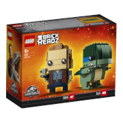 LEGO® BrickHeadz 41614 Jurassic World Owen und Blue, 234 Teile