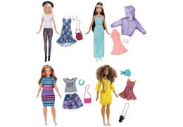 Mattel FJF67 Barbie Fashionistas Puppe+ Mode Geschenkset