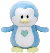 TY Twinkles,Pinguin hellblau 17cm