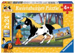 Ravensburger 08869 Puzzle Yakari und der kleiner Donner 2 x 24 Teile
