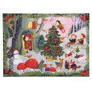 Puzzle, Weihnachten im Wald 20 Teile