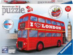 Ravensburger 125340 Puzzle 3D London Bus 216 Teile