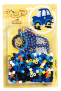 HAMA Bügelperlen Maxi - Blisterset Auto - 1 Stiftplatte Auto, 250 Perlen