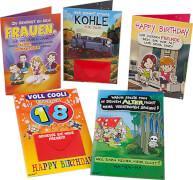 Depesche 3866 Archies Friends Klappkarten - witzige Geburtstagsgrüße
