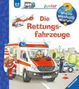 Ravensburger 020850  Wieso?Weshalb?Warum? Junior - Die Rettungsfahrzeuge