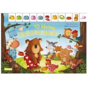 Pappbilderbuch mit Tieren, 10 kleine Töpfchenpupser, für Kinder bis 4 Jahre
