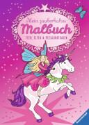 Ravensburger 029761  Mein zauberhaftes Malbuch - Feen, Elfen und Meerjungfrauen