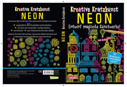 Kreative Kratzkunst: Neon: Set mit 10 Kratzbildern