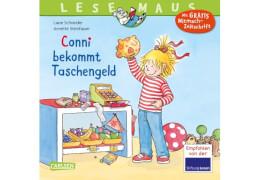 Lesemaus - Band 67: Conni bekommt Taschengeld, Taschenbuch, 24 Seiten, ab 3 Jahren