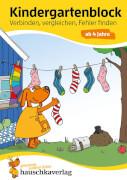 Kindergartenblock - Verbinden, vergleichen, Fehler finden ab 4 Jahre. Ab 4 Jahre.