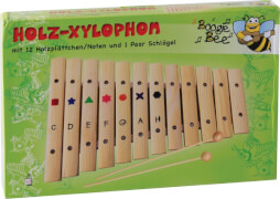 Boogie Bee Holz Xylophon 12 Noten