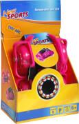 New Sports Fersenroller mit LED, pink