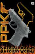 Agent PPK Pistole, 25 Schuss